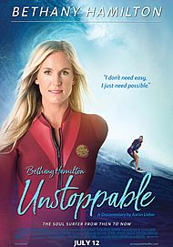 "Movie poster for ""BETHANY HAMILTON: UNSTOPPABLE"""