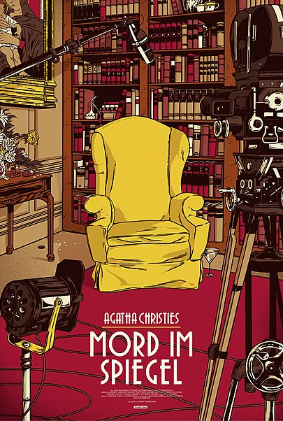 """Filmplakat für """"MORD IM SPIEGEL"""""""