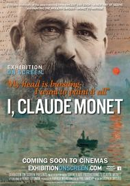 "Movie poster for ""I, CLAUDE MONET"""