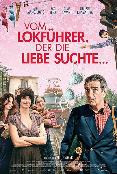 """Filmplakat für """"VOM LOKFÜHRER, DER DIE LIEBE SUCHTE - FILMSTART IN ÖSTERREICH"""""""