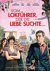 """Movie poster for """"VOM LOKFÜHRER, DER DIE LIEBE SUCHTE - FILMSTART IN ÖSTERREICH"""""""