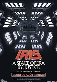 """Movie poster for """"IRIS : A SPACE OPERA BY JUSTICE"""""""