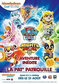 "Movie poster for ""MIGHTY PUPS, LA SUPER PATROUILLE"""