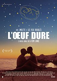 "Movie poster for ""L'OEUF DURE"""