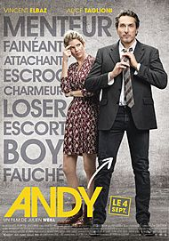 "Movie poster for ""ANDY"""