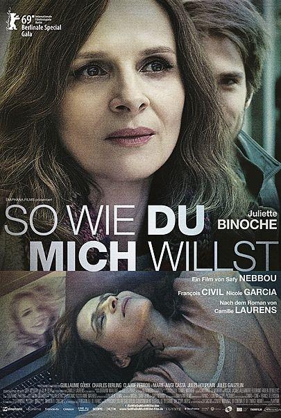 """Filmplakat für """"SO WIE DU MICH WILLST - Filmstart in Österreich"""""""
