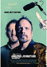 "Movie poster for ""THE AMAZING JOHNATHAN """