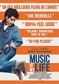 "Affiche du film ""MUSIC OF MY LIFE"""