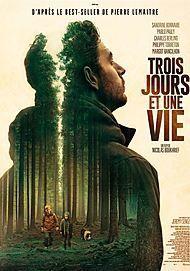 """Movie poster for """"TROIS JOURS ET UNE VIE"""""""