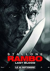 """Movie poster for """"RAMBO: LAST BLOOD"""""""