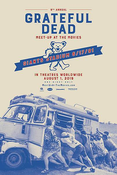 """Movie poster for """"GRATEFUL DEAD MEET-UP AT THE MOVIES """""""