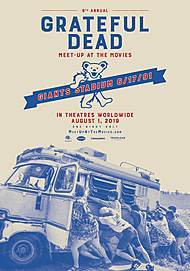 "Movie poster for ""GRATEFUL DEAD MEET-UP AT THE MOVIES """