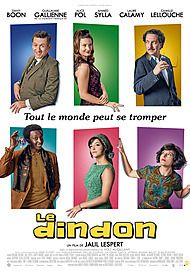 "Movie poster for ""LE DINDON """