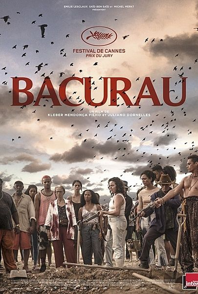 "Movie poster for ""BACURAU"""