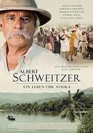 "Movie poster for ""ALBERT SCHWEITZER"""