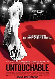 "Movie poster for ""UNTOUCHABLE"""