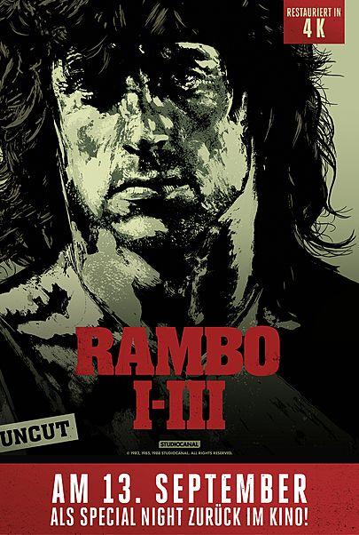"Filmplakat für ""SPECIAL NIGHT: RAMBO (1-3)"""