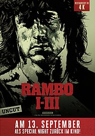 "Movie poster for ""SPECIAL NIGHT: RAMBO (1-3)"""