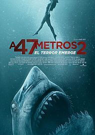 "Movie poster for ""47 METERS DOWN: UNCAGED"""