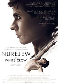 "Movie poster for ""THE WHITE CROW"""