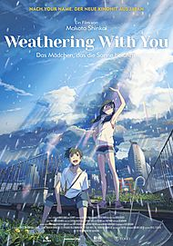 "Filmplakat für ""WEATHERING WITH YOU"""