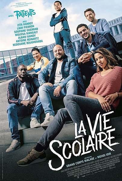 """Movie poster for """"LA VIE SCOLAIRE"""""""