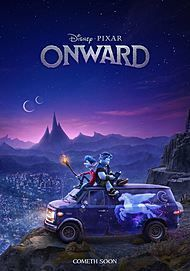 "Movie poster for ""ONWARD"""