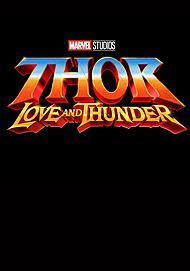 "Filmplakat für ""THOR: LOVE AND THUNDER"""
