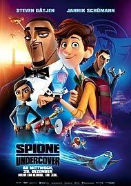"""Filmplakat für """"SPIONE UNDERCOVER - EINE WILDE VERWANDLUNG"""""""