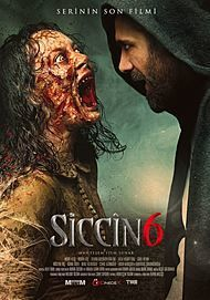 """Movie poster for """"SICCIN 6"""""""