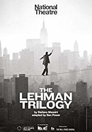 "Movie poster for ""THE LEHMAN TRILOGY"""