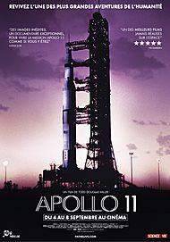 "Movie poster for ""APOLLO 11"""