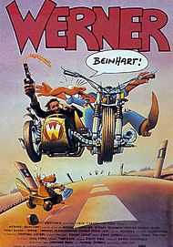"Movie poster for ""WERNER - BEINHART!"""