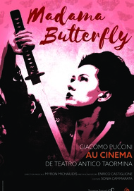 "Movie poster for ""MADAMA BUTTERFLY"""