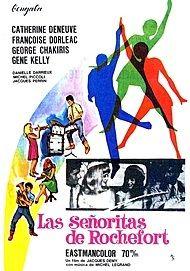 """Movie poster for """"LES DEMOISELLES DE ROCHEFORT"""""""