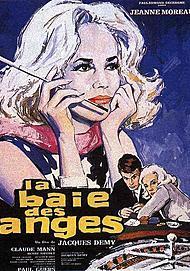 "Movie poster for ""LA BAIE DES ANGES"""