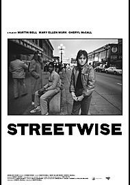 "Movie poster for ""STREETWISE"""