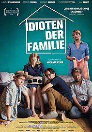 """Movie poster for """"IDIOTEN DER FAMILIE"""""""