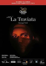"""Movie poster for """"LA TRAVIATA (OPERA DE PARIS-FRA CINEMA)"""""""