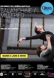 """Movie poster for """"BALANCHINE MILLEPIED"""""""
