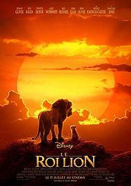 "Movie poster for ""THE LION KING """
