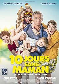 """Movie poster for """"10 JOURS SANS MAMAN """""""