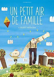 """Movie poster for """"UN PETIT AIR DE FAMILLE"""""""
