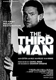 "Movie poster for ""THE THIRD MAN"""