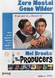 "Movie poster for ""THE PRODUCERS"""