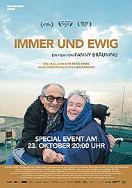 """Movie poster for """"IMMER UND EWIG"""""""