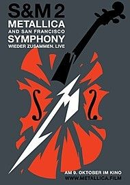 "Movie poster for ""METALLICA & SAN FRANCISCO SYMPHONY: S&M²"""