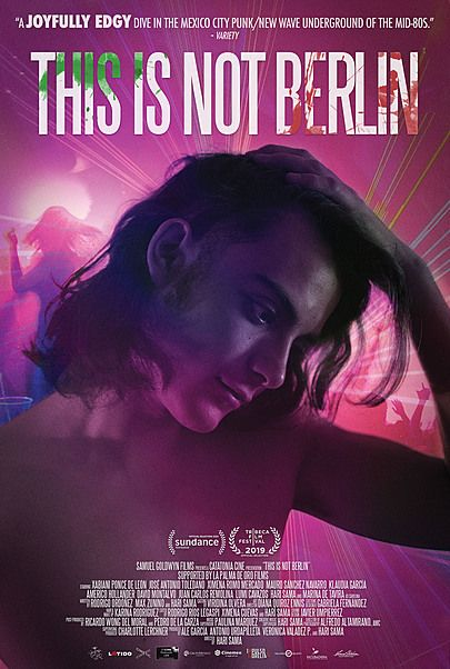 """Movie poster for """"THIS IS NOT BERLIN"""""""
