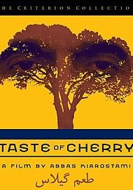 "Movie poster for ""TASTE OF CHERRY"""