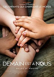 "Movie poster for ""DEMAIN EST A NOUS"""